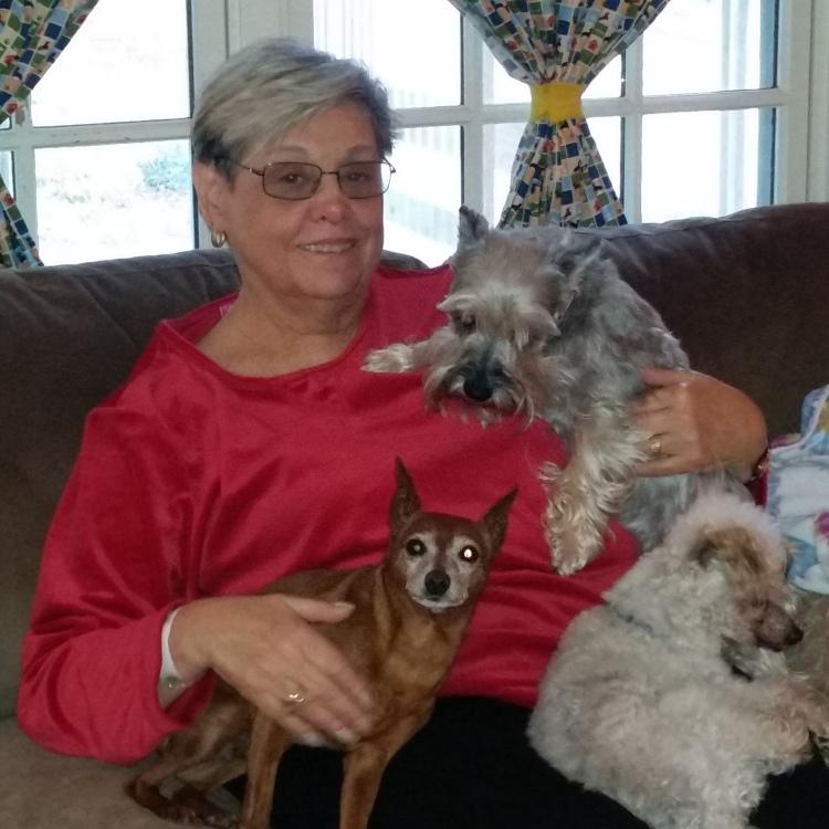 Harriette&pups